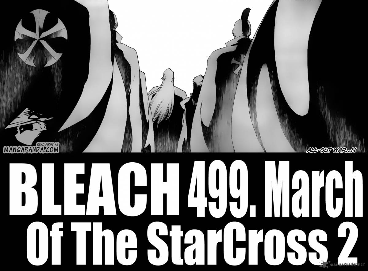 Bleach 490 March Of The StarCross