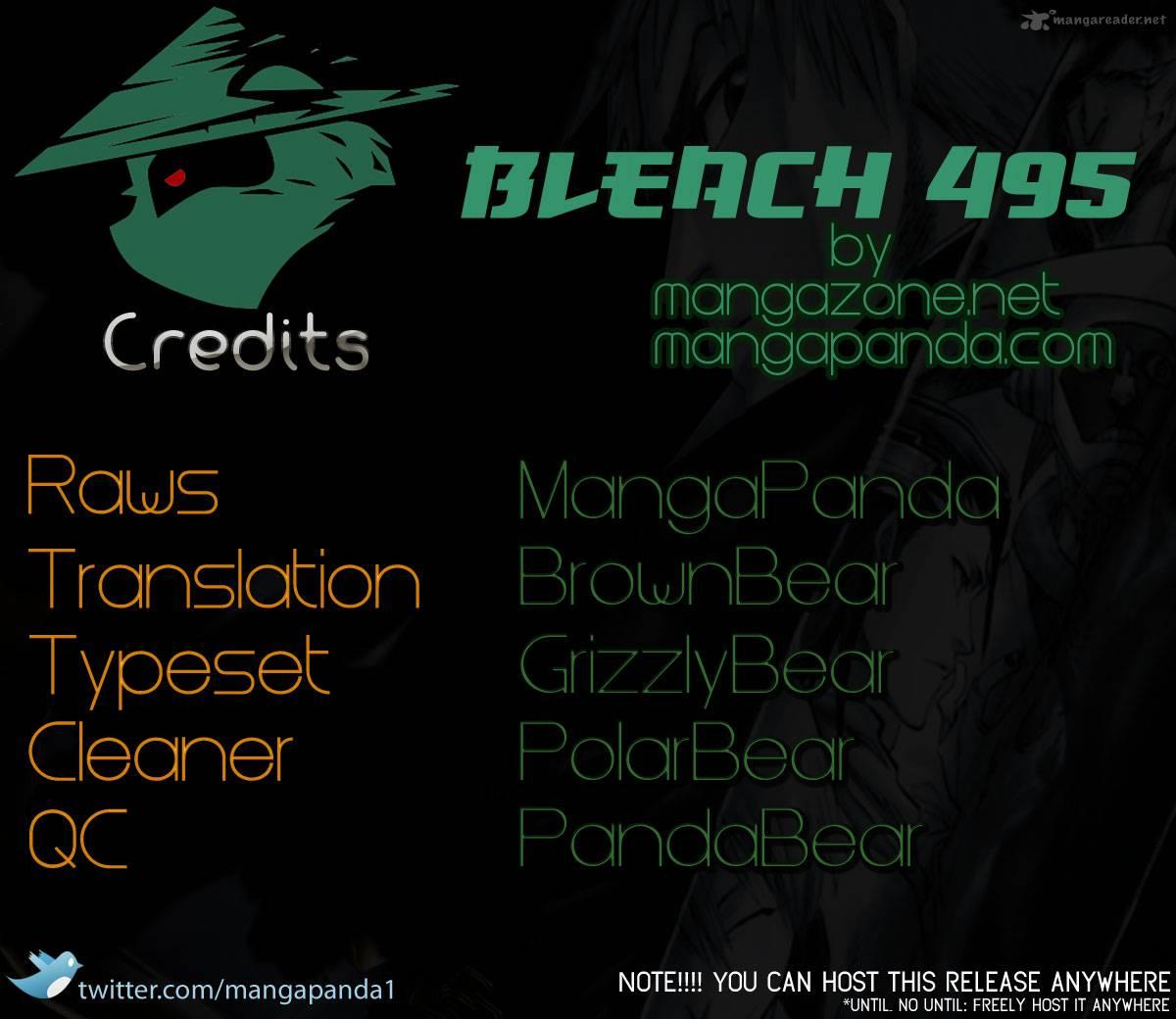Bleach 495 Bleeding Guitar Blues