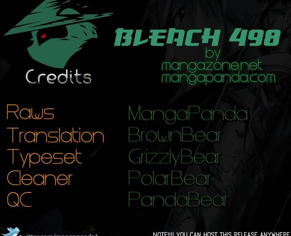 Bleach 498 : The Black Rescuer