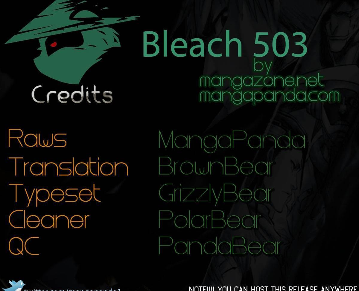 Bleach 503 Wrath as a Lightning