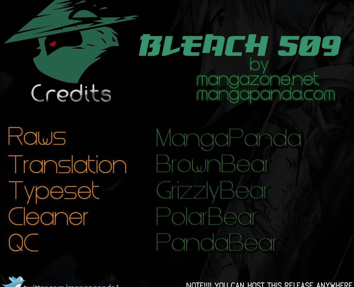 Bleach Ch 509 : Tenchi Kaijin