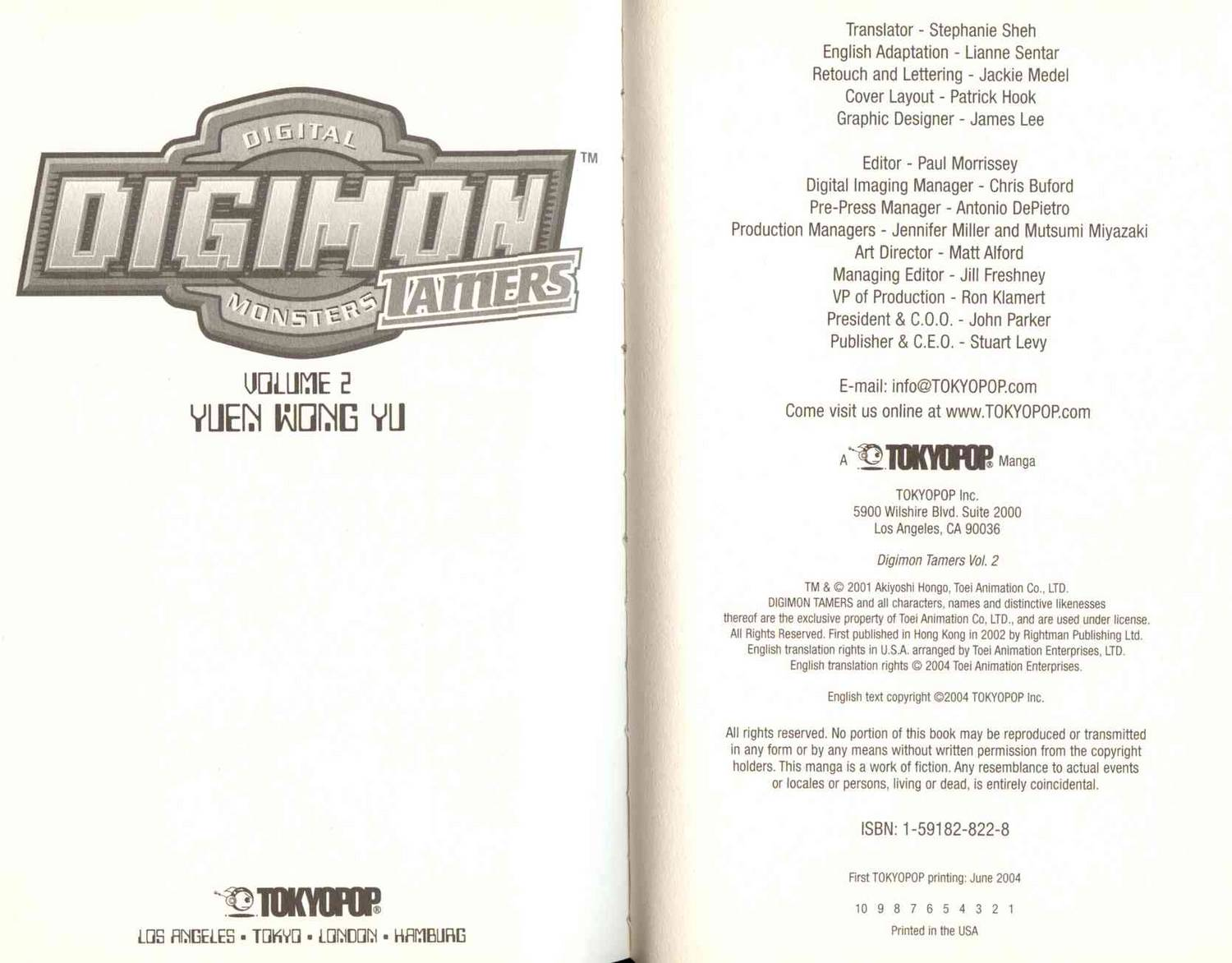 Digimon Tamers Vol.2 Ch.08-14 page 5 at www.Mangago.com