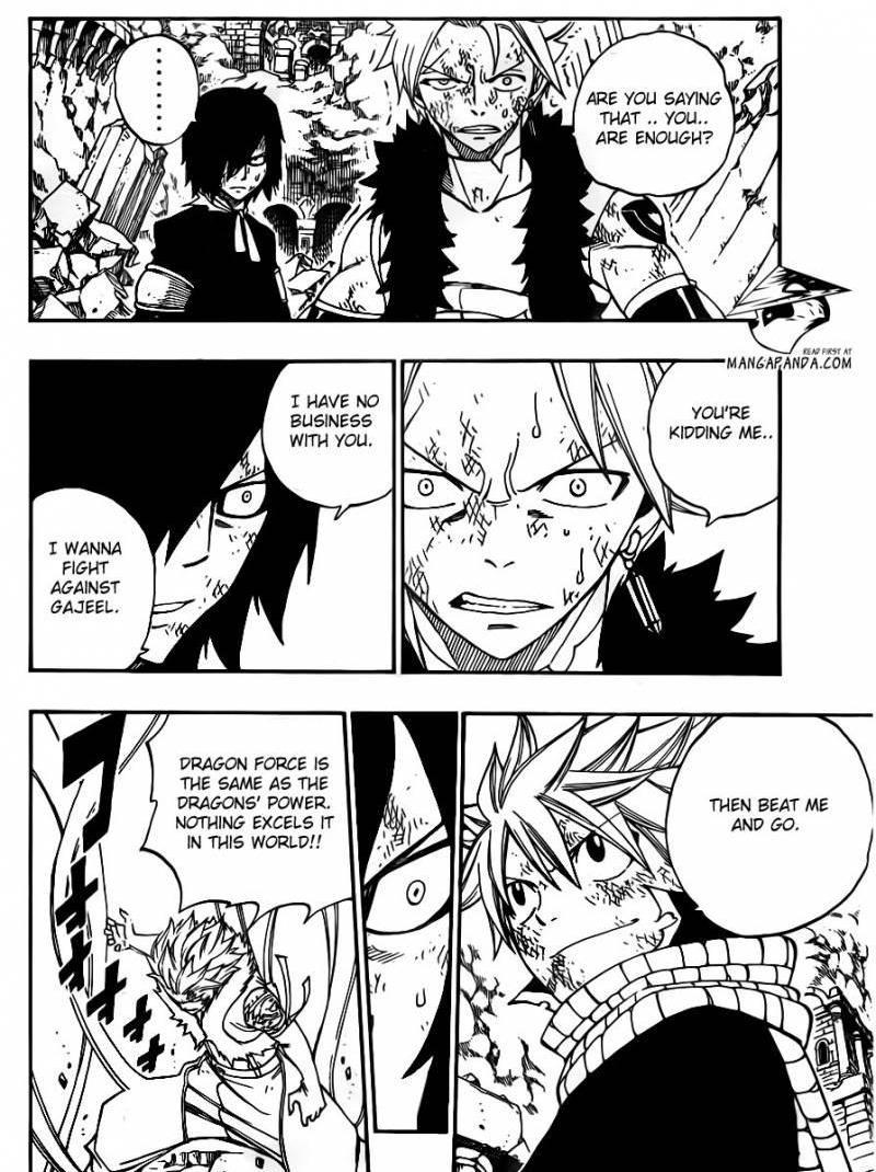 Fairy Tail 296 Natsu vs. The Twin Dragons