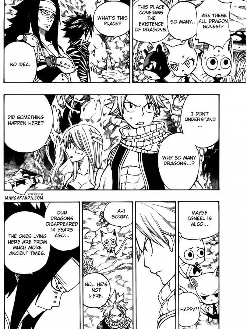 Fairy Tail 300 Where The Dragon's Spirit Slumb