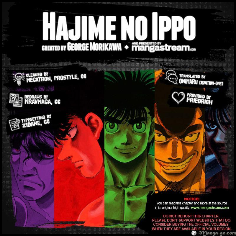 Hajime no Ippo - Chapter 958