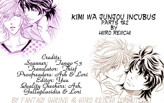 Kimi wa Junjou Incubus Ch.1(end) page 1 at www.Mangago.com